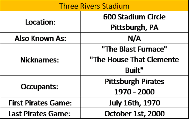 Three River Stadium I
