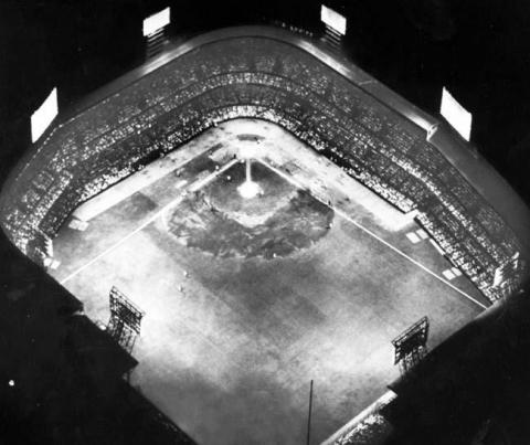 Tiger Stadium Night Game