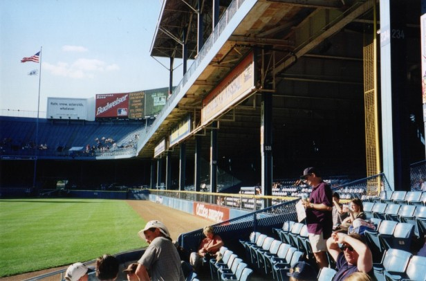Tiger Stadium Right Field Overhang