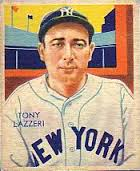 Tony Lazzeri 2 Grand Slams