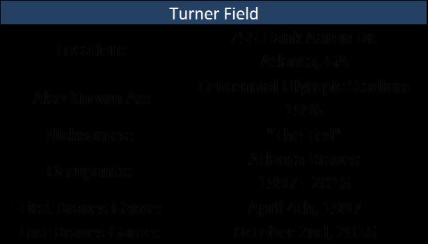 Turner Field I