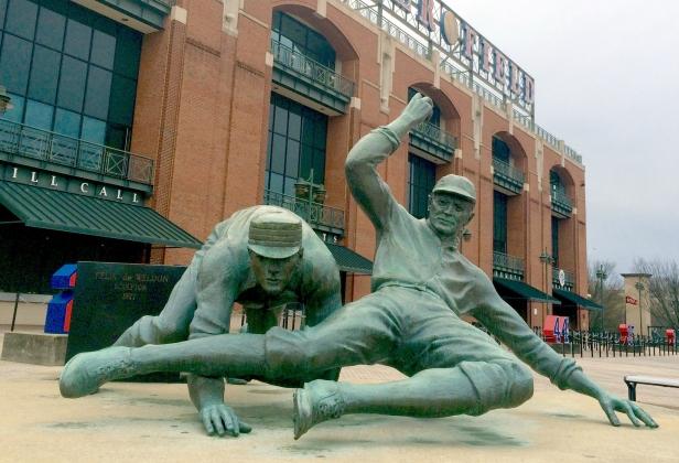 Ty Cobb Statue - Turner