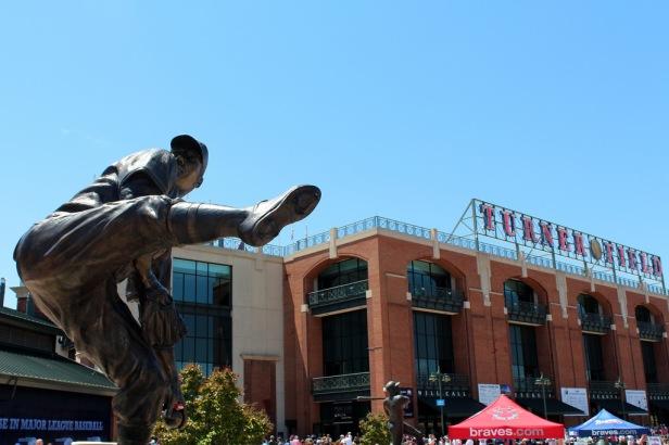 Warren Spahn Statue