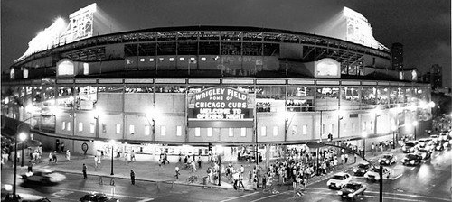 Wrigley 1st Official Night Game