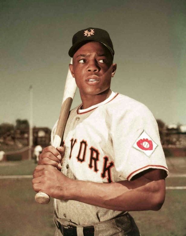 Willie Mays - Roosevelt Stadium