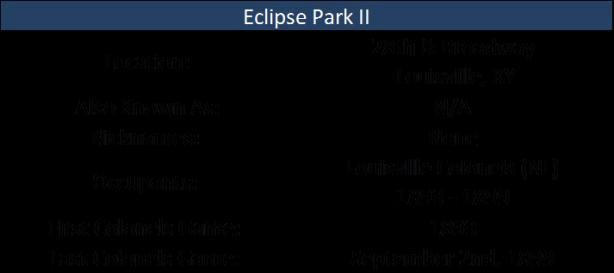 Eclipse Park II
