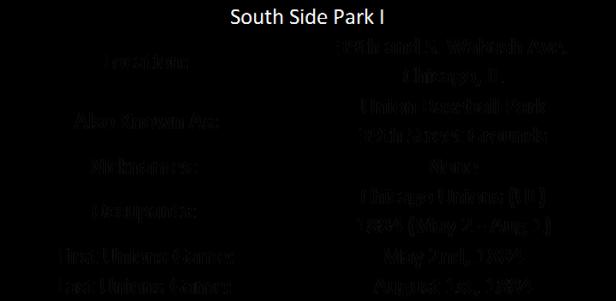 South Side Park I