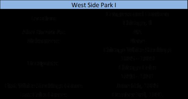 West Side Park I
