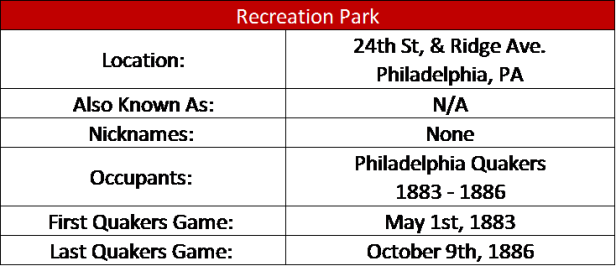Recreation Park (PHI)